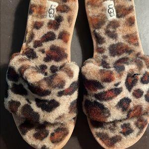 Ugh Cheetah slippers